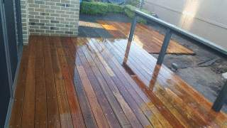 Spotted Gum Decking in Ashburton