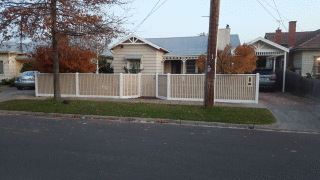 Feature Picket Fence with Capping in McKinnon