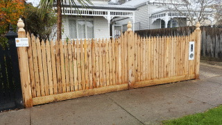 Feature Picket Fence in Malvern East