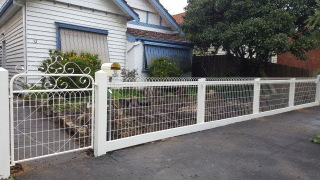 Feature Emu Wire Fence in Brunswick