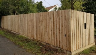 Treated Pine Paling Fence in Chadstone