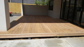 Blackbutt Decking in Glen Waverly