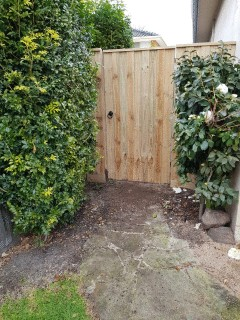 Single Gate with Palings in Malvern East