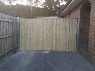 Double Gates in Wantirna South