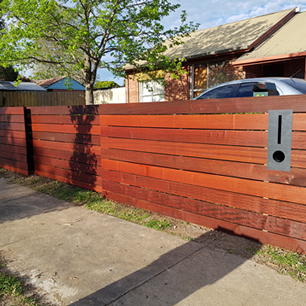 Merbau Timber Fencing